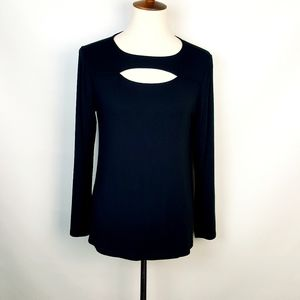 Soft Surrounding Black Cut Out Front Top PM